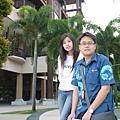 052-36普爾曼湖畔飯店-我和導遊小豪