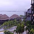 039-22普爾曼湖畔飯店-雨天清晨