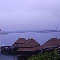 039-23普爾曼湖畔飯店-雨天清晨