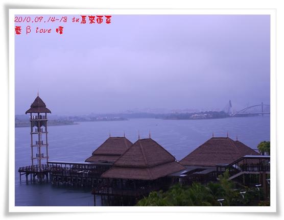 039-11普爾曼湖畔飯店-雨天清晨