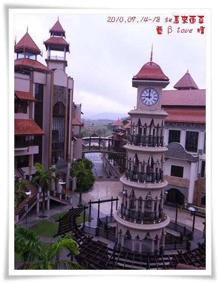 039-15普爾曼湖畔飯店-雨天清晨