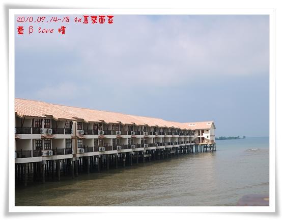 029-8禮晶海上VILLA-早晨水上屋