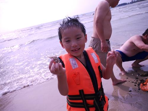 021-48黃金海岸-牽罟撈到的魚