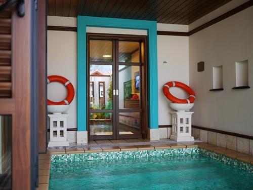 022-39禮晶海上VILLA-水上屋室內泳池
