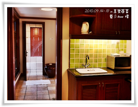 022-24禮晶海上VILLA-水上屋廚房和浴室
