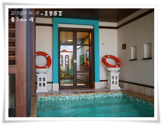 022-27禮晶海上VILLA-水上屋室內泳池
