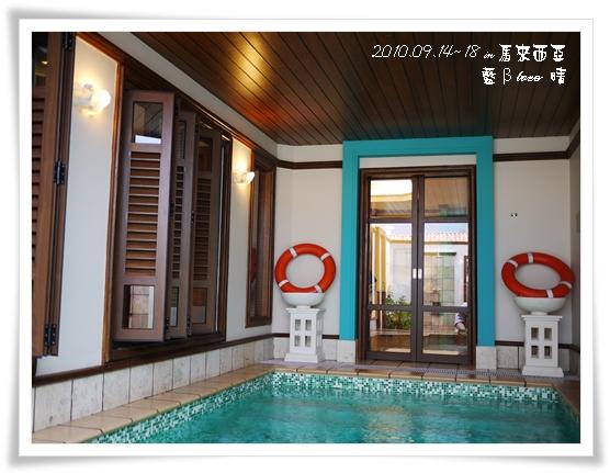022-28禮晶海上VILLA-水上屋室內泳池