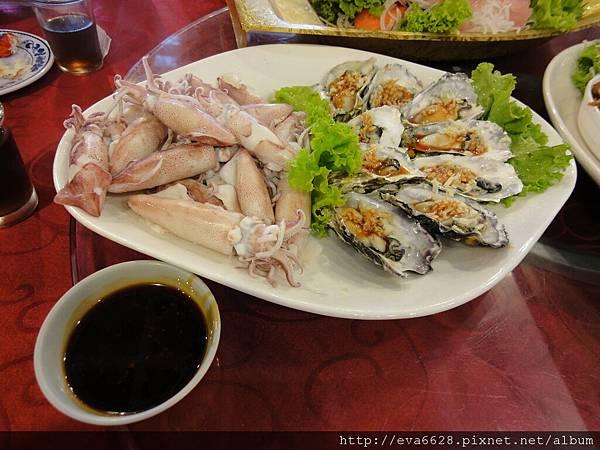 [食。南澳]蹺班吃海鮮in清谷園餐廳-5