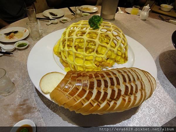3~海鮮咖哩佐麵包