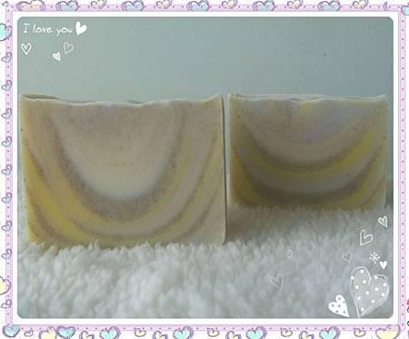 NO34:綠石泥乳油木香水皂-2