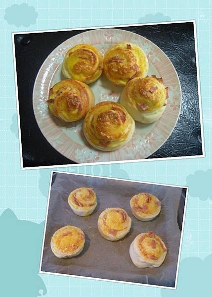 P28-火腿起司烤麵包