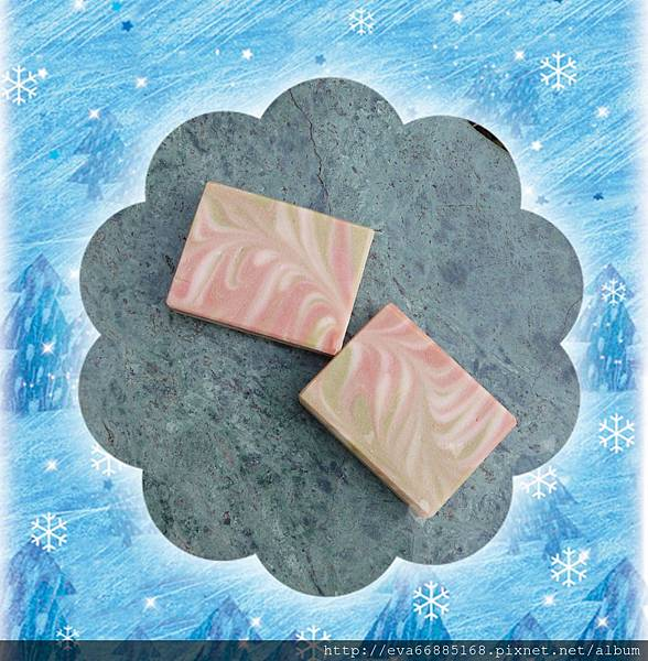 NO72:洋甘菊抗敏浮水渲染乳皂