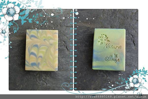 NO74:豆漿渲染皂