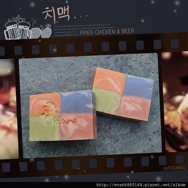 NO76:甜杏乳木四格皂