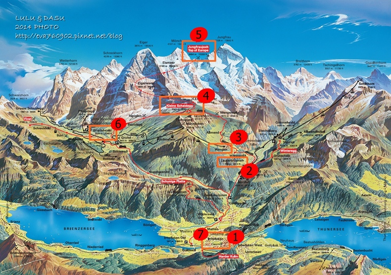 Jungfrau-Grindelwald-region-summer-map