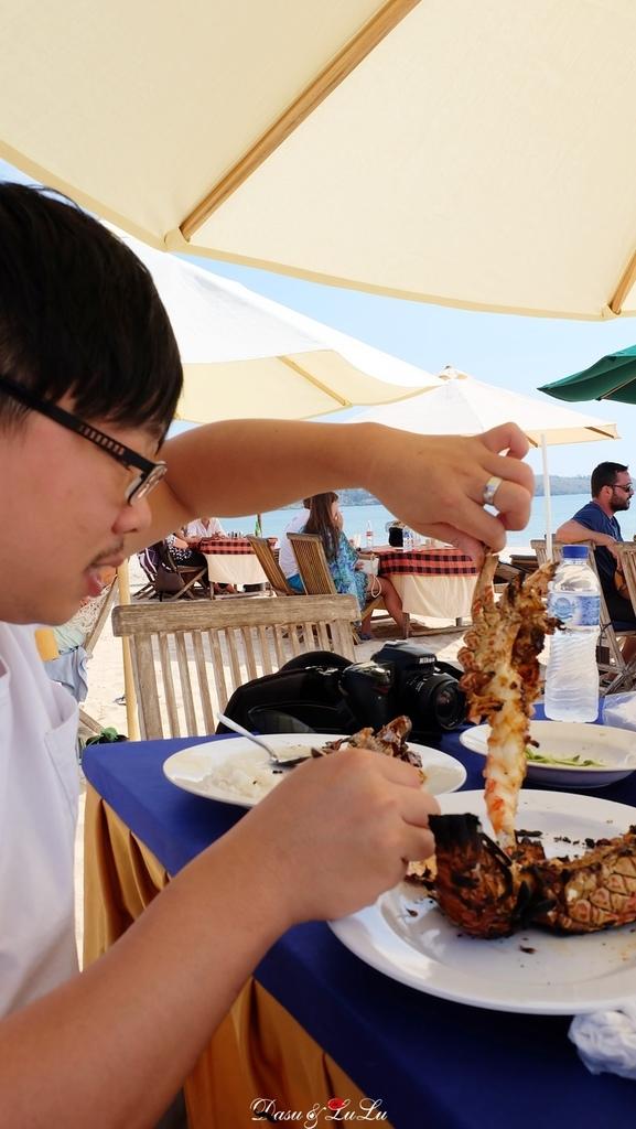 巴里島峇里島海島度假自由行金巴蘭吃海鮮金巴蘭海灘