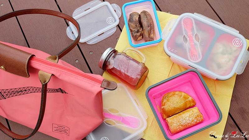 伸縮便當盒野餐帶便當環保便當盒
