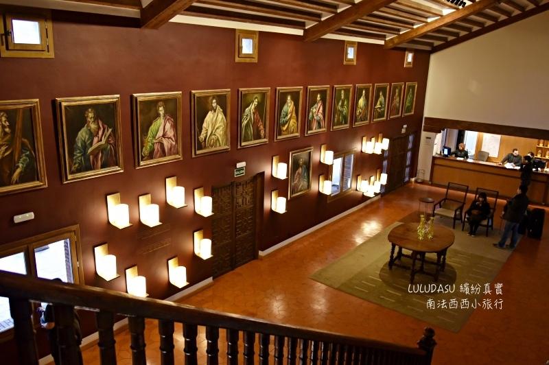 西班牙托雷多推薦住宿飯店托雷多國營旅館Parador de Toledo
