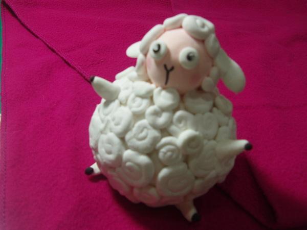 黏土課作品-肥羊