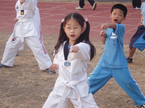 跆拳道表演