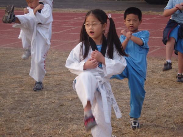 跆拳道表演(二)