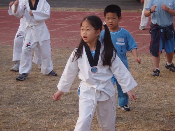 跆拳道表演(三)