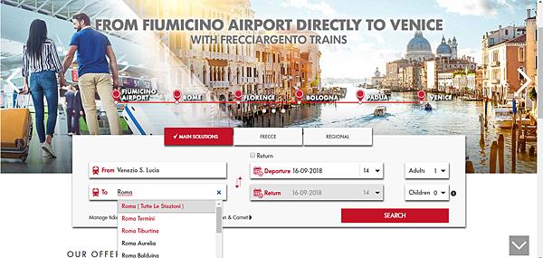 Italy Rail Venezia - Roma.png