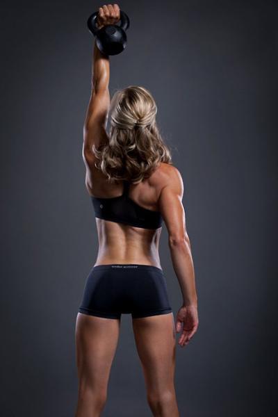 Kettlebell-Girl-Fitness