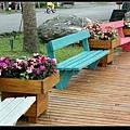 充滿童真又可愛的彩色椅子