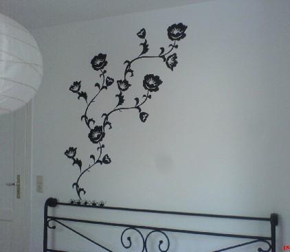 臥室的壁貼