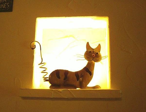 店內裝飾-第N號貓咪