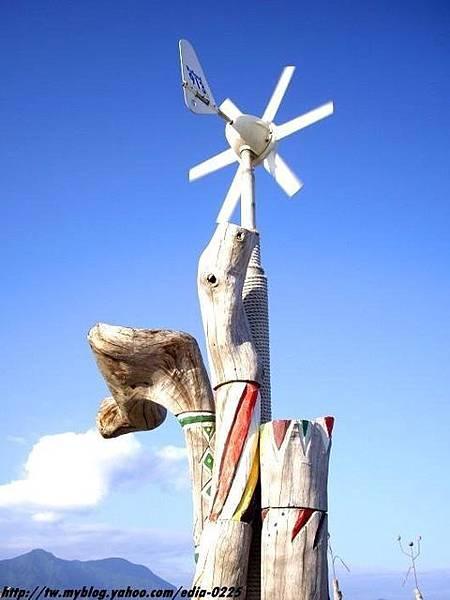 漂流木裝置~風帶來的消息.JPG