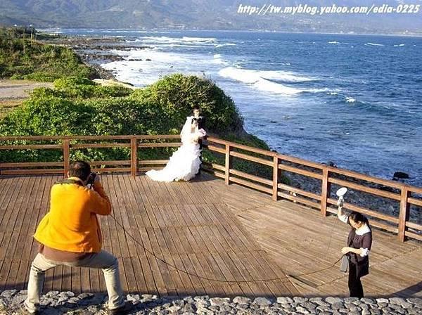 婚紗照拍攝現場