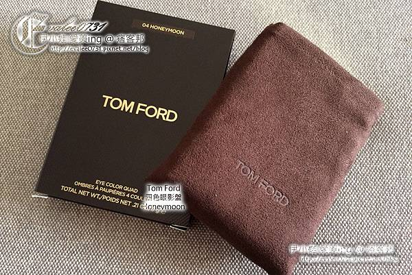 Tom Ford 四色眼影盤 Honeymoon_001.JPG