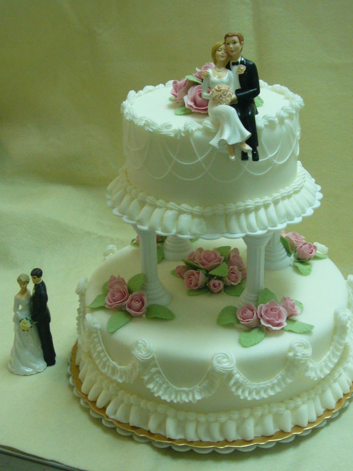 雙層結婚蛋糕