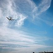 看到飛機會特別的想家