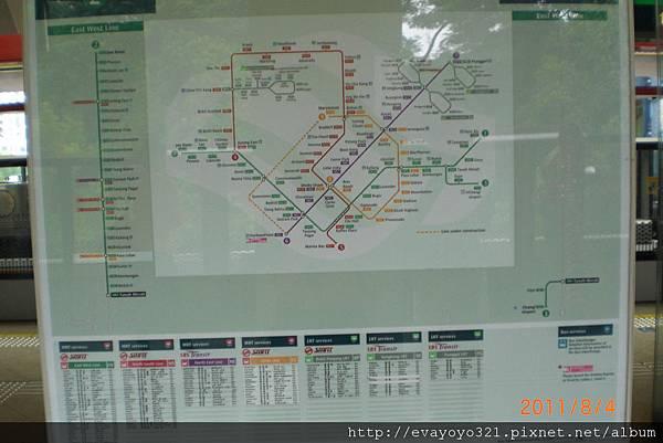 MRT地圖
