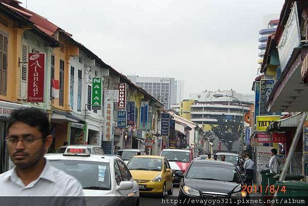 小印度的街景