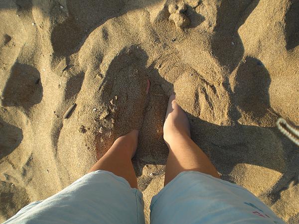 耶~我愛沙灘