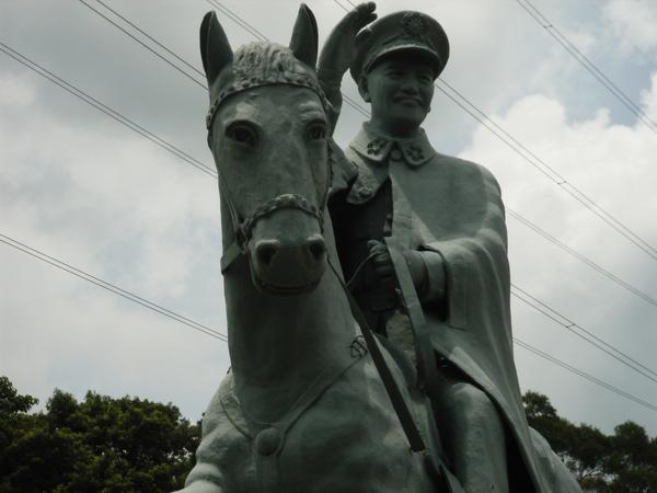 騎馬的蔣公