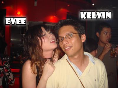 醉 醉 的 我 和Kevin 哥 之 一。。。(肥)