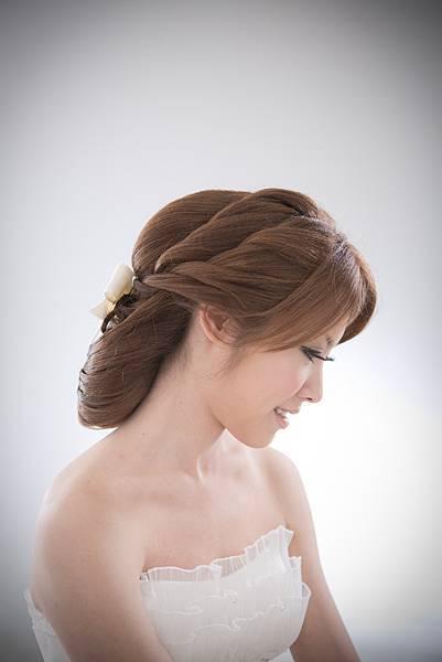 韓式編髮包頭