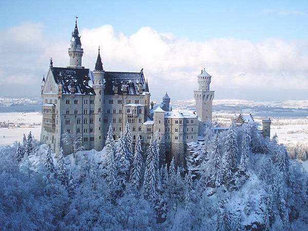 neuschwanstein 童話城堡 德國新天鵝堡