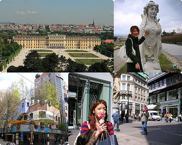 ♥ Missed about Austria 2 ♥ 維也納 百水公寓 + 美景宮 Belvedere + 熊布朗宮 ♥
