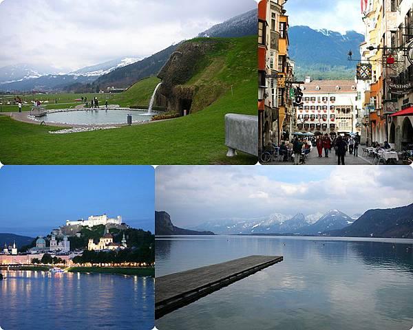 ♥ Missed about Austria 1 ♥ Salzburg + Innsbruck 水亮景點 SWAROVSKI 水晶宮 ♥