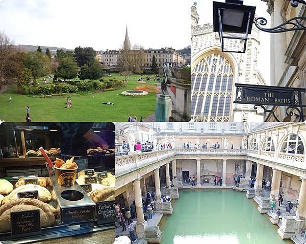 ♫ Missed about UK 2 ♫ 有羅馬人足跡的美麗小鎮 巴斯Bath ♫