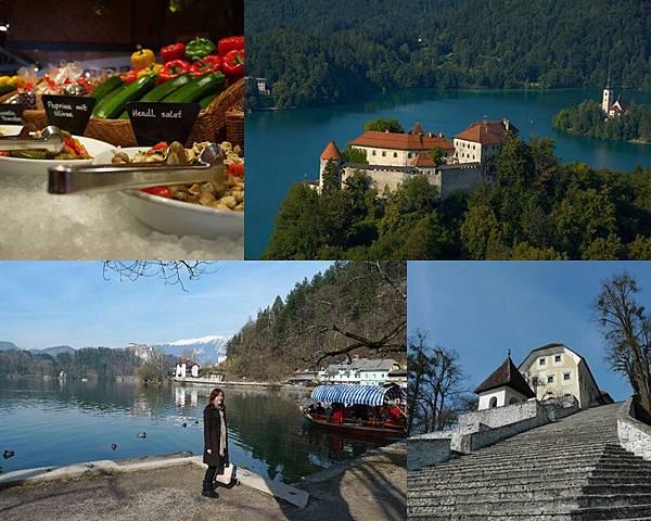 ☆ 斯洛維尼亞 ☆ Ljubljana 首都 盧比安那 + Bled 布雷德城堡 ☆