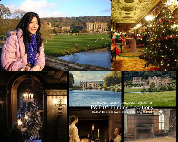 ♫ Missed about UK 1 ♫ 傲慢與偏見 Pride and Prejudice Derby Chatsworth House ♫