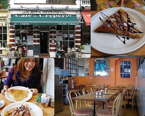 ♫ The Kensington Crêperie ♫ London 必吃的美味可麗餅 ♫