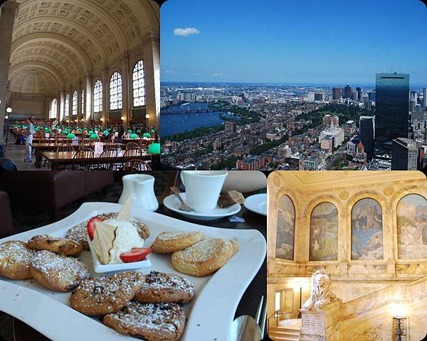 ♥ Boston 推薦行程 ♥ Copley Square 的 Top of the Hub 喝下午茶 眺望美麗的市中心♥